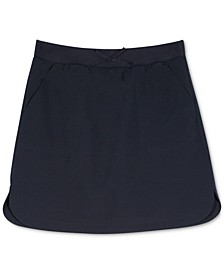Big Girls Plus-Size Curved Hem Scooter Skirt