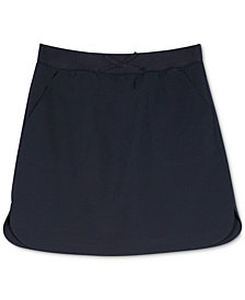Nautica Big Girls Plus Curved Hem Scooter Skirt