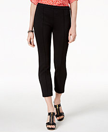 MICHAEL Michael Kors Jacquard Cropped Skinny Pants, Regular and Petite