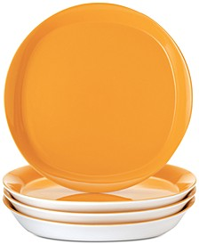 Round & Square Dinner Plates, Set of 4