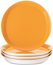 Round & Square Salad Plates, Set of 4