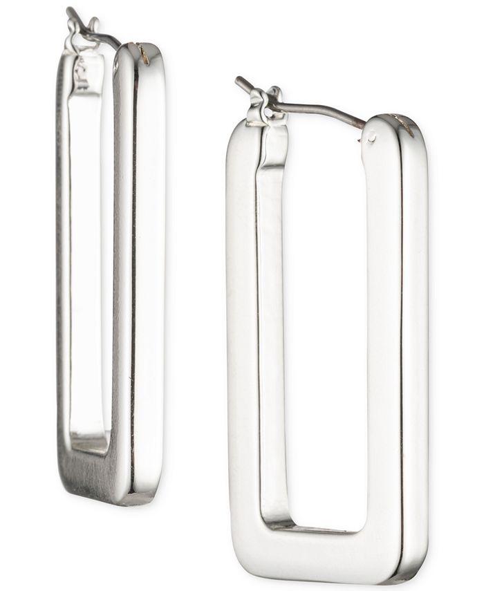 Lauren Ralph Lauren - Geometric Link Hoop Earrings