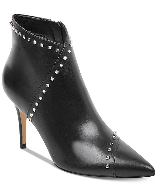 5eb05a6b72b8 Marc Fisher Riva Studded Dress Booties   Reviews - Boots - Shoes ...