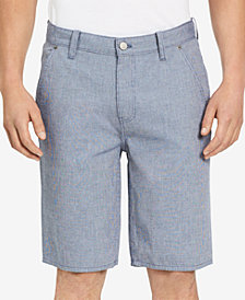 "Calvin Klein Jeans Men's Mini-Check 10.5"" Inseam Shorts"
