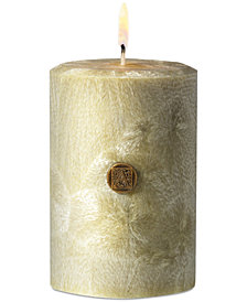 "Aromatique Grapefruit Fandango 3"" Feather Pillar Candle"