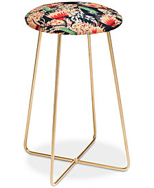 Deny Designs Holli Zollinger Boheme Butterfly Counter Stool