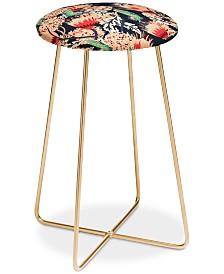 Deny Designs Holli Zollinger Boheme Butterfly Counter Stool