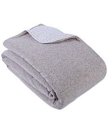 "Berkshire Reversible Cozy Knit 90"" x 90"" Blanket"