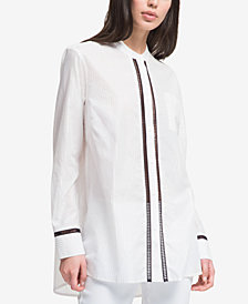 DKNY Pinstriped Shirt, Created for Macy's