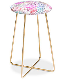 Deny Designs Stephanie Corfee Loopy Counter Stool