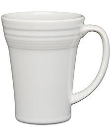 Fiesta White Bistro Latte Mug