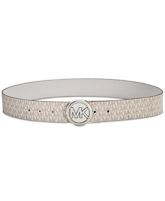 Reversible Pebble Signature Belt by Michael Michael Kors