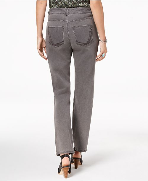 Style Co Petite Ankle amp; Straight Jeans for Grey Created Leg Whisper Macy's 6wS6qU