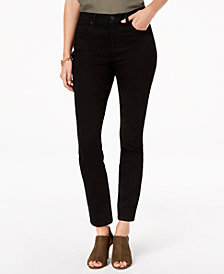 Style & Co Petite Slim Straight-Leg Ankle Jeans, Created for Macy's
