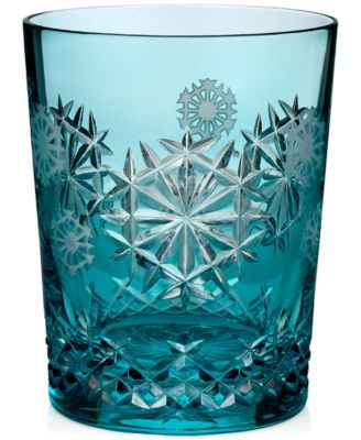 2018 Snowflake Wishes Happiness Prestige Edition Double Old-Fashioned Glass
