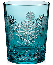 Waterford 2018 Snowflake Wishes Happiness Prestige Edition Double Old-Fashioned Glass