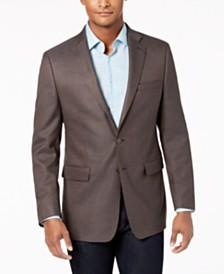 Calvin Klein Men's Slim-Fit Stretch Neat Sport Coat