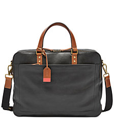 Fossil Men's Double-Zip Workbag