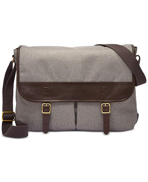 ed5d1e02a251 Fossil Men s Buckner Messenger Bag  Fossil Men s Buckner Messenger ...
