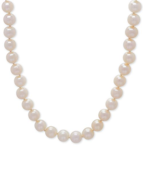 """Honora Cultured Freshwater Pearl (6mm) 18"""" Collar Necklace"""