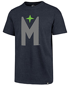 '47 Brand Men's Minnesota Timberwolves Mashup Logo Club T-Shirt