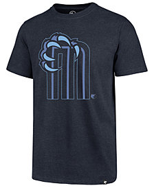 '47 Brand Men's Memphis Grizzlies Mashup Logo Club T-Shirt