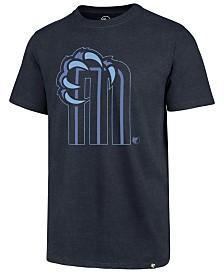 '47 Brand Men's Memphis Grizzlies Mashup Logo Club T-Shirt