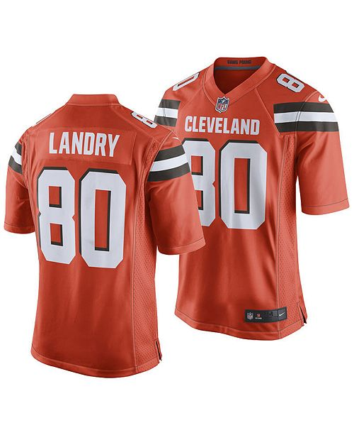 6adbb1a87 Nike Men's Jarvis Landry Cleveland Browns Game Jersey & Reviews ...