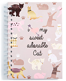 Chasing Lola Cats Spiral Notebook