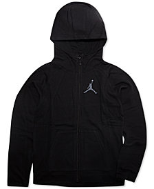 Jordan Big Boys Zip-Up Hoodie
