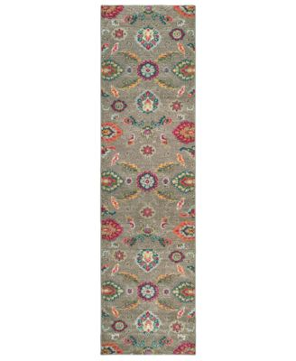 "CLOSEOUT! Archive Seeger 2' 7"" x 10' 0"" Runner Rug"