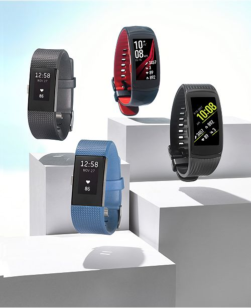 Fitbit Charge 2 Heart Rate + Fitness Wristband & Reviews - Watches