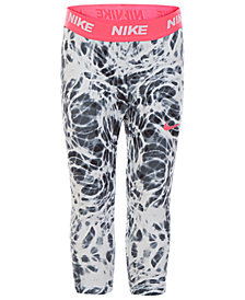 Nike Little Girls Printed Sport Essentials Tidepool Leggings