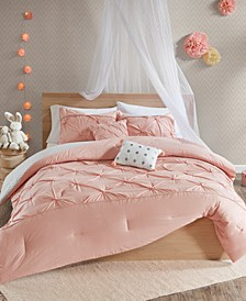 Aurora 5-Pc. Full/Queen Cotton Reversible Comforter Set