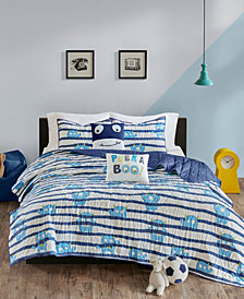 Urban Habitat Kids Poe 5-Pc. Full/Queen Cotton Coverlet Set