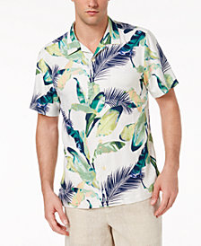Tommy Bahama Men's Garden of Hope & Courage Floral Silk Camp Shirt