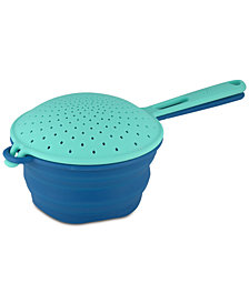 Fiesta 2-Pc. Collapsible Silicone Colander