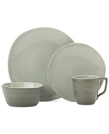 Mikasa Marbella Grey 4-Pc. Place Setting