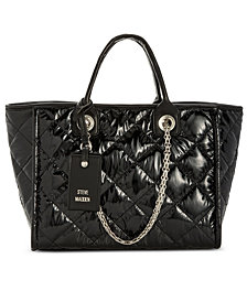Steve Madden Quilted Storm Tote