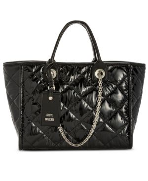 QUILTED STORM TOTE
