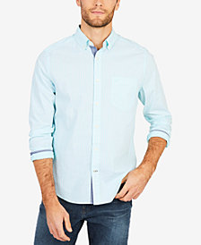 Nautica Men's Classic-Fit Stretch Stripe Shirt