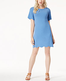 Weekend Max Mara Scallop-Trim Shift Dress