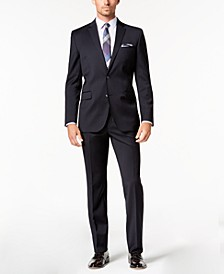 Men's Slim-Fit Stretch Performance Solid Travel Suit
