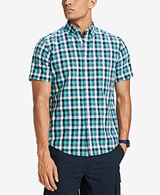 Tommy Hilfiger Men's Alton Plaid Shirt, Created for Macy's