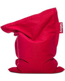 Fatboy Junior Stonewashed Bean Bag Chair, Quick Ship