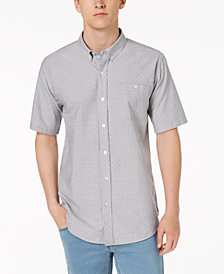 Ezekiel Men's Brad Yarn-Dyed Dot Dobby Pocket Shirt