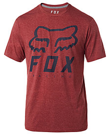 Fox Men's Heritage Forger Logo-Print Tech T-Shirt