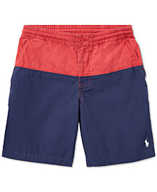 Polo Ralph Lauren Big Boys Polo Prepster Cotton Shorts