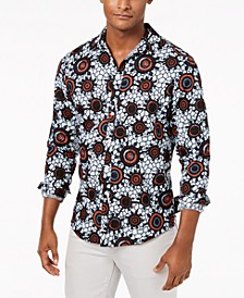 INC Men's Zazu Print Shirt, Created for Macy's