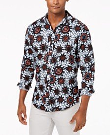 I.N.C. Men's Zazu Print Shirt, Created for Macy's